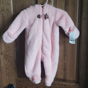 NWT Hooded bunting suit